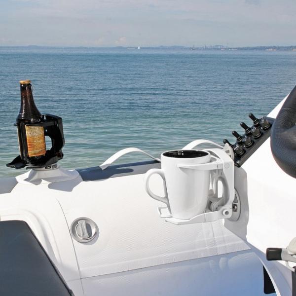Стойка CupClam - можете да й поверите всичко, от чаша и бутилка до електроника - 13