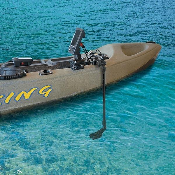 Разчитайте на достатъчно дълбочина за сонарната сонда с Kayak/Dinghy Transducer Arm XL - 27