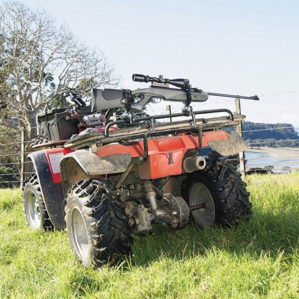 Безопасно и удобно транспортиране и съхранение на оръжието с Railblaza GunHold - 15