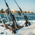 Стойка за риболовен прът Railblaza Rod Holder II - елегантния дизайн я прави изключително стилен помощник