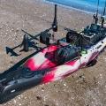 Универсална, бързо отстраняема стойка за електрически двигател за каяк Railblaza Kayak Motor Mount - 04-4091-11 - може да се комбинира с други аксесоари