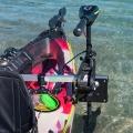 Универсална, бързо отстраняема стойка за електрически двигател за каяк Railblaza Kayak Motor Mount - 04-4091-11 - монтажът и демонтажът са в рамките на 30 секунди
