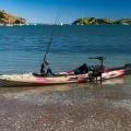 Универсална, бързо отстраняема стойка за електрически двигател за каяк Railblaza Kayak Motor Mount - 04-4091-11 - стилна, функционална и надеждна