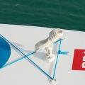 Самозалепваща нископрофилна основа Railblaza QuikPort черна - 03-4087-11 BLK - от висококачествена инженерна пластмаса, с 3M VHB самозалепваща подложка