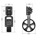 Транспортни колела за лодка Railblaza C-TUG 50-0009-51
