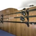 Railblaza RodRak - система за съхранение и транспорт на въдици върху стена