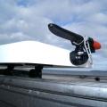 Държач Railblaza G-Hold 35 - вертикален монтаж на масичка за филетиране Railblaza Fillet Table II, с участието на основа за стойка Railblaza Starport