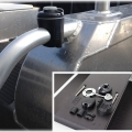 Основа за релинг Railblaza RailMount 32-41 BLK - лесен и надежден монтаж, лесно преместване