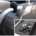 Основа за релинг Railblaza RailMount 32-41 WH - лесно монтиране, демонтиране и местене