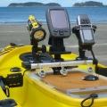 Алуминиев бар Railblaza TracPort Dash 350 - спестява от ценното пространство на каяка или лодката