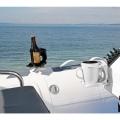 Стойка за чаша Railblaza CupClam WH - надеждно, удобно и със стил, за всяка лодка или яхта
