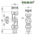 Регулируем удължител Railblaza Adjustable Extender - 03-4017-11