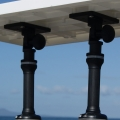 Стойка Railblaza Adjustable Platform BLK - в комбинация с филетираща масичка и удължител Fixed Extender 150