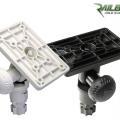 Стойка Railblaza Adjustable Platform BLK - 15 позиции на наклон и едновременно регулиране на до 180 градуса въртене, предлага се и в бял цвят