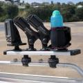 Алуминиев бар Railblaza Tracport Dash 500 - риболовни принадлежности, лични вещи - колкото повече, толкова повече - на една ръка разстояние