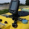 Стойка за сонар / GPS Railblaza Three Axis Platform - регулиране във всички посоки, с по едно движение за завъртане и за наклона на основата