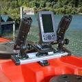 Въртяща се стойка Railblaza Rotating Platform - удобна и компактна, позволява всякакви комбинации