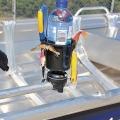 Стойка за напитки Railblaza DrinkHold BLK - монтаж на релинг, идеален органайзер за примамки и инструменти