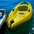 Основа за стойка с клин за въже Railblaza CleatPort BLK - услужливо държи носа на каяка добре прилепен към водата