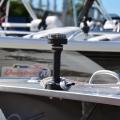 Основа за стойка с клин за въже Railblaza CleatPort BLK - в комбинация с навигационни светлини