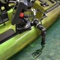 Държач за сонарна сонда с въртяща се стойка за сонар Railblaza Kayak & Canoe Sounder & Transducer Mount - приспособим за всеки модел кану или каяк