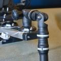 Държач за сонарна сонда с въртяща се стойка за сонар Railblaza Kayak & Canoe Sounder & Transducer Mount - монтаж чрез основа от алуминиевия бар