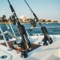 Стилна стойка за риболовен прът Railblaza Rod Holder II бяла - стилен помощник на борда