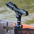 Стилна стойка за риболовен прът Railblaza Rod Holder II - вертикален монтаж на вътрешната стена на лодката