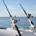 Стилна стойка за риболовен прът Railblaza Rod Holder II бяла - здрава, надеждна и защитена от UV лъчи и солена вода