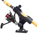 Стойка за прът с основа Railblaza Rod Holder R StarPort HD Kit BLK  - създадена специално за спининг, риболов на муха и байткаст риболов