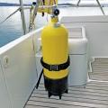 Държач за бутилка Railblaza Dive & Gas Bottle Holder - здраво и сигурно съхранява водолазните бутилки