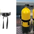 Държач за бутилка Railblaza Dive & Gas Bottle Holder - временен монтаж на алуминиев бар чрез StarPort основи