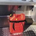 Държач за бутилка Railblaza Dive & Gas Bottle Holder - тубата с гориво или вода е обезопасена срещу разливане