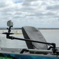 Регулируема стойка с платформа за камера Railblaza Camera Boom 600 Pro Series - 02-4036-11 - най-гъвкавата и удобна стойка на пазара
