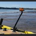 Регулируема стойка с платформа за камера Railblaza Camera Boom 600 Pro Series - 02-4036-11 - снимате пред вас, зад вас, себе си, от близо или от далече