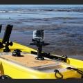 Регулируема стойка с платформа за камера Railblaza Platform Boom 150 Pro Series - 02-4037-11 - камера, сонар или друга електроника, тя ще се погрижи за тях