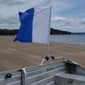 Лек прът за флаг от две части Railblaza FlagPole - 02-4009-11 - монтаж на релинга на лодка, на тръбите на АТВ-то или ремаркето