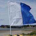 Лек прът за флаг от две части Railblaza FlagPole - 02-4009-11 - супер лек за всякакви плавателни съдове