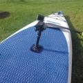 Основа за стойка Railblaza RIBPort - не искате да дупчите - няма проблем дори да не надуваема лодка