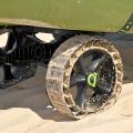 Колела за каяк C-TUG SandTrakz Kayak Cart 50-0006-71 с имитиращи верига колела за по-малко усилие - движението в пясъка е по-лесно от всякога!
