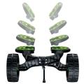 Количка за каяк C-TUG SandTrakz Kayak Cart 50-0006-71 с имитиращи верига колела за по-малко усилие - основите се регулират според формата на каяка.