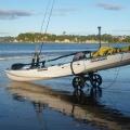 Здрав колесар за каяк C-TUG Kayak Cart с непробиваеми колела 50-0001-71 - не се плаши от никаква повърхност