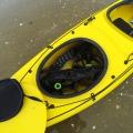 Здрав колесар за каяк C-TUG Kayak Cart с непробиваеми колела 50-0001-71  - светкавично разглобяване и възможност за съхранение в люка на каяка