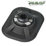 Специална основа за стойка Railblaza RIBPort BLK за балона на надуваемите лодки - черна