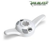 Основа за StarPort стойка с клин за въже бяла Railblaza CleatPort WH - 03-4044-21-WH
