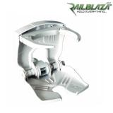 Бяла сгъваема регулируема стойка за чаши и напитки Railblaza CupClam WH - 02-4013-21-WH