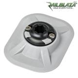 Специална основа за стойка Railblaza RIBPortt GR за балона на надуваемите лодки - сива