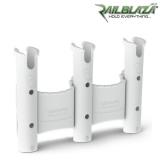 Бяла тройна стойка за въдици Railblaza RodStow Triple WH - 09-0011-21