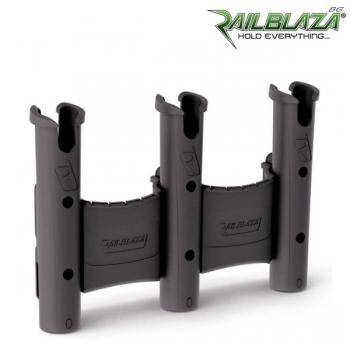 Тройна стойка за въдици Railblaza RodStow Triple BLK - 09-0011-11