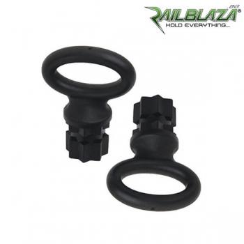 Чифт черни овални халки Railblaza WebEye30 Pair BLK - 02-4005-11-BLK